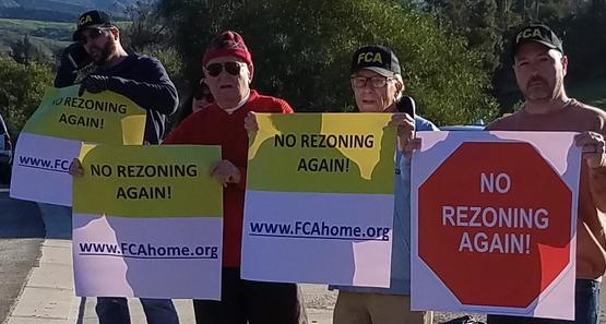 Ralliers opposing Steve Sheldon project
